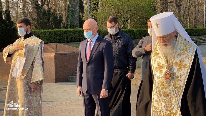 Церковь почтила память освободителей Одессы от фашистов