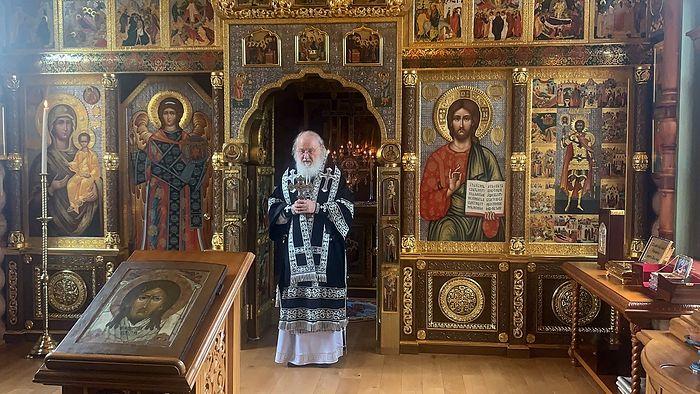 В Великую Среду Святейший Патриарх Кирилл совершил последнюю в году Литургию Преждеосвященных Даров