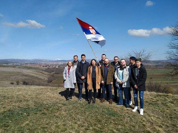 """Μέλη της ανθρωπιστικής οργάνωσης """"Πομοράβλγε Κοσσυφοπεδίου"""""""
