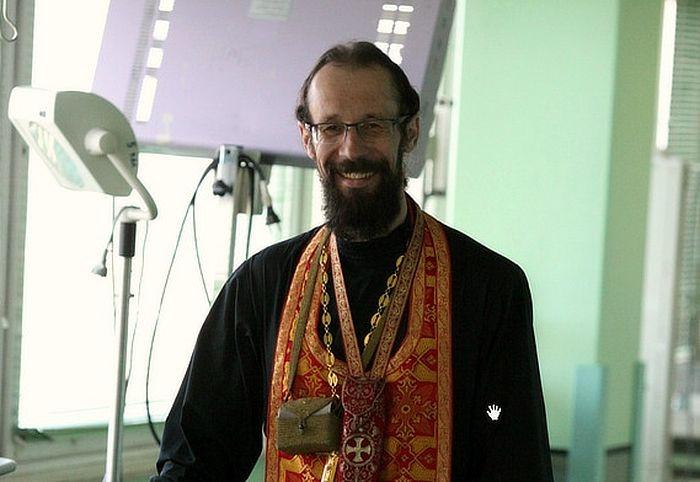 Священник Роман Бацман. Фото диакона Андрея Радкевича
