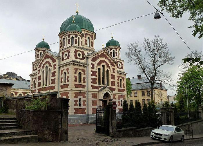 Храм Великомученика Георгия Победоносца во Львове