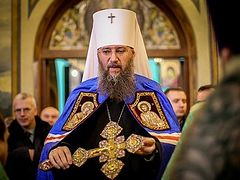 Ukrainian Church now faces two challenges: media lies and terrorist arson, says Chancellor of UOC