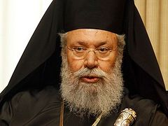Archbishop of Cyprus proposes plan for reopening churches