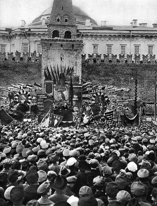 1η Μαΐου 1919. Μόσχα