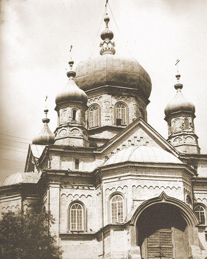 Казанский храм Петровска, 1940-е годы