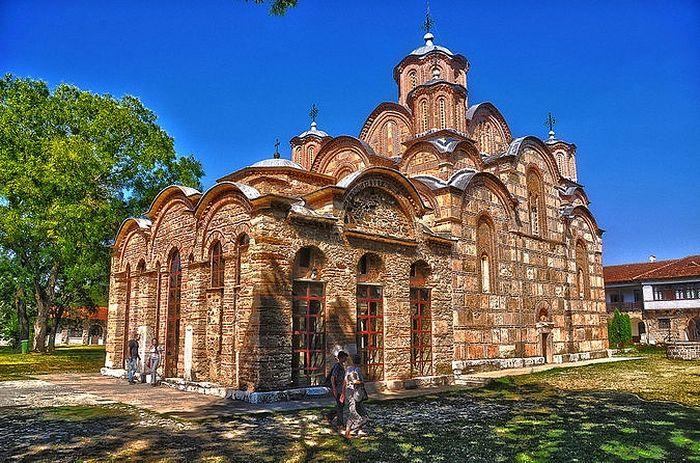 Нова игуманија у манастиру Грачаница (Фото Википедија)