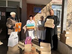 Московская областная епархия оказывает помощь находящимся в самоизоляции в период эпидемии коронавируса
