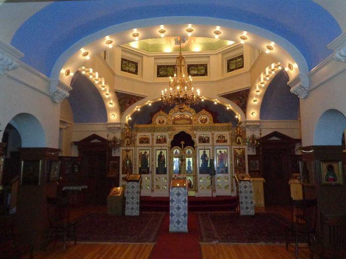 Интерьер кафедрального собора Святой Троицы (Сан-Франциско) - ПЦА