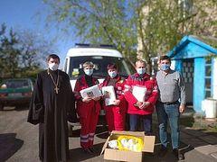 Епархии Украинской Православной Церкви продолжают оказывать помощь медикам