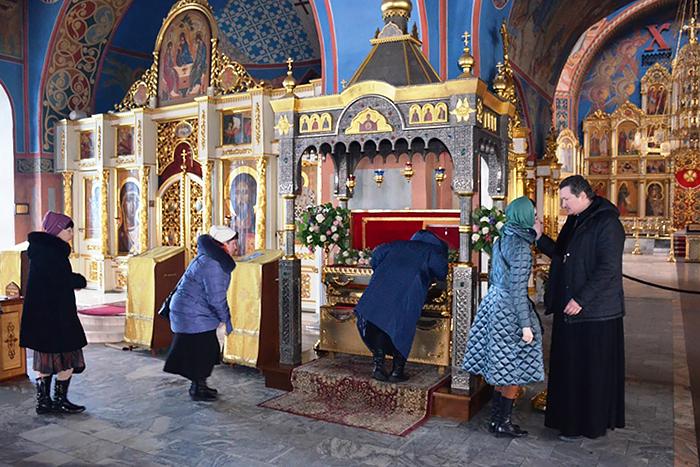 Στον καθεδρικό ναό των Θεοφανίων τού Νόγκινσκ