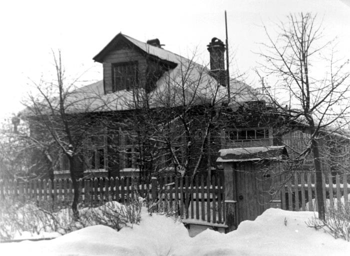 Το σπίτι στο οποίο ζούσε ο π. Σέργιος Μαχάεφ στο Νογκίνσκ το 1937