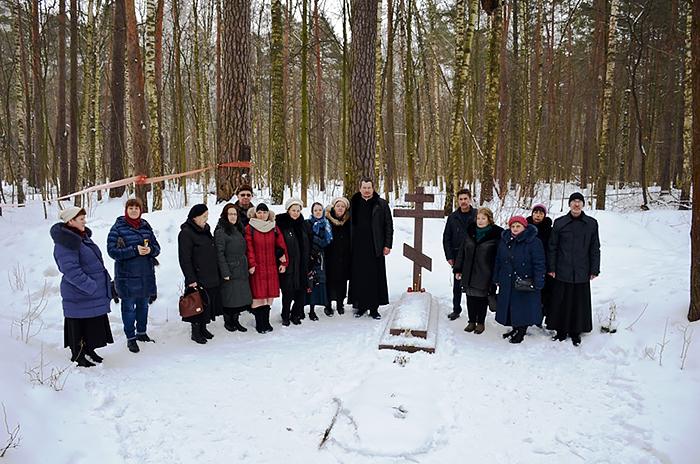 Στο σημείο εκτέλεσης τού αγιομάρτυρα Κωνσταντίνου τού Μπογκορόντσκ