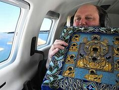 Wonderworking Kursk Root Icon blesses New York in aerial procession