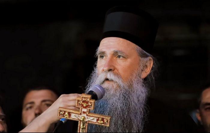 Ο Επίσκοπος Ιωαννίκιος απηύθυνε λόγο στους παρισταμένους