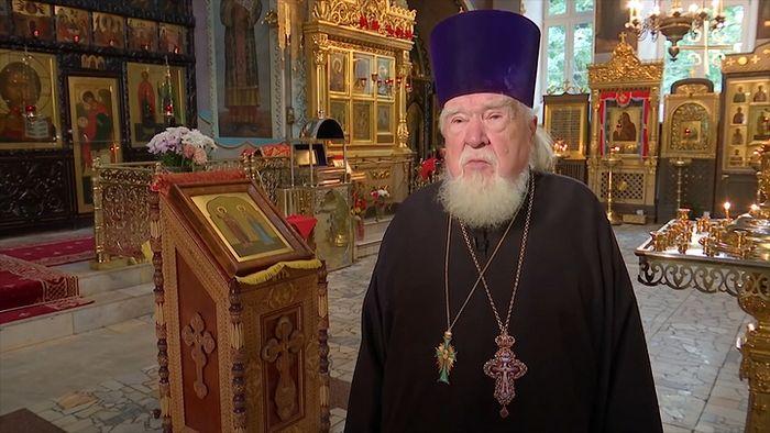 Протоиерей Николай Дятлов (1932–2020). Фото: телеканал Царьград