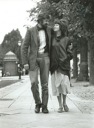 Ирина Ратушинская и Игорь Геращенко, ее супруг
