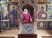 Святейший Патриарх Кирилл совершил Божественную литургию в день памяти святителя Николая Чудотворца