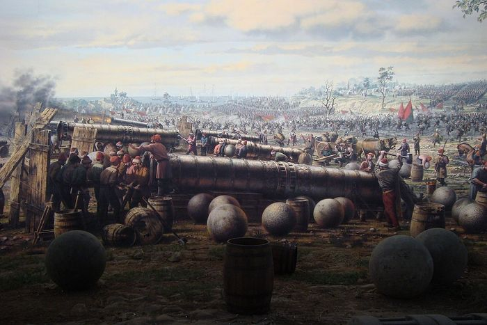 Осадная артиллерия турок