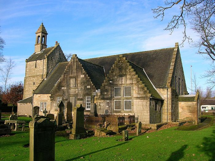 Kilbirnie Kirk (Church) of St. Brendan in North Ayrshire, Scotland