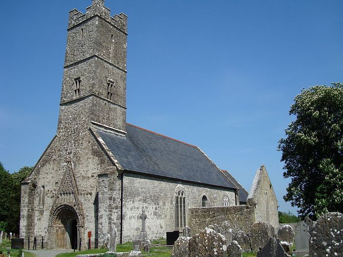 St. Brendan's Anglican Cathedral in Clonfert, Galway