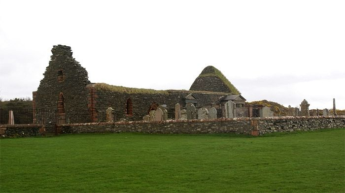 St. Brendan's Chapel in Skipness, Argyll and Bute