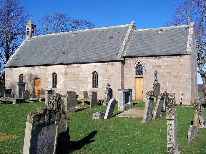St. Brendan's Kirk (Church) in Birnie, Moray, Scotland