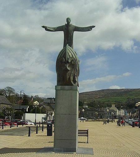 St. Brendan's sculpture in Bantry, Cork