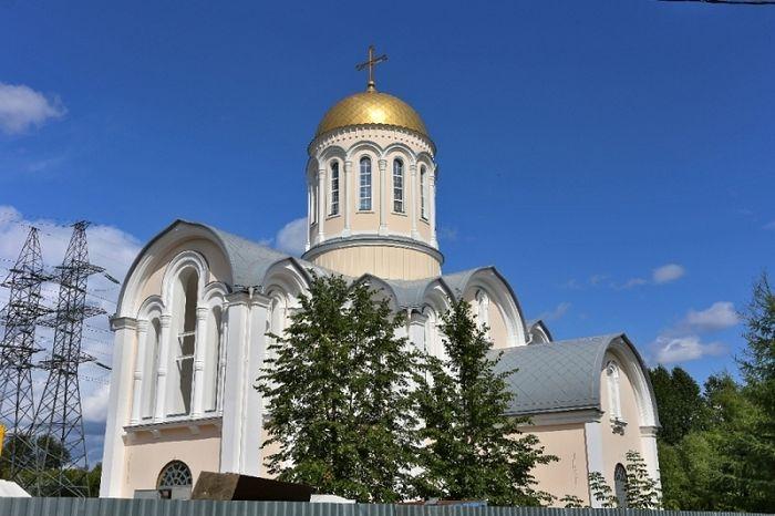 Храм преподобного Сергия Радонежского в Тушине введен в эксплуатацию