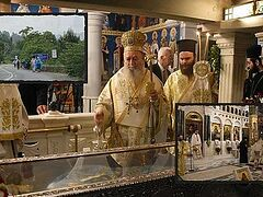 ΑΓΙΟΣ ΙΩΑΝΝΗΣ Ο ΡΩΣΟΣ : Μεγαλοπρεπής εορτασμός στον Ναό του στην Εύβοια
