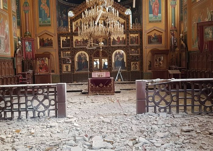 В Загребе возобновились богослужения в соборе, пострадавшем от землетрясения