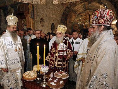 Η Αγία Σκέπη στην Πατριαρχική Μονή του Πετς