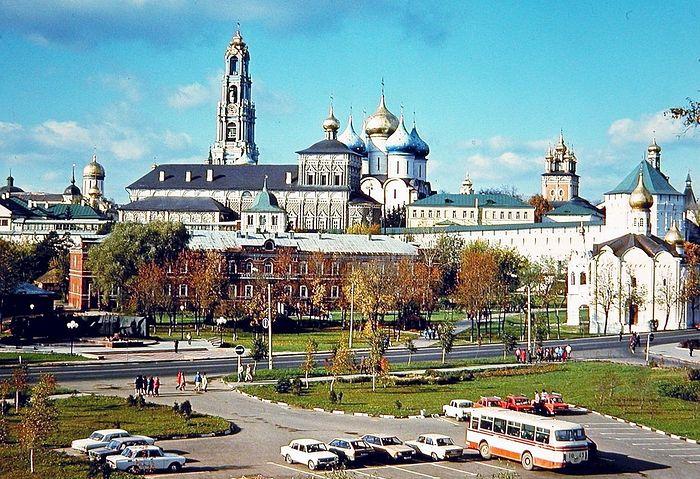 Троице-Сергиева лавра. 1986 г.