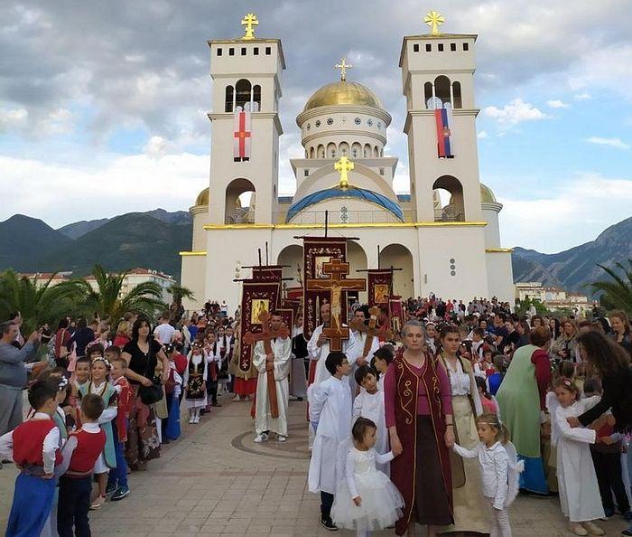 В Черногории прошел крестный ход в честь святого Иоанна-Владимира