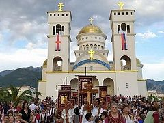 First procession held in Montenegro after lifting of quarantine, in honor of St. Jovan Vladimir