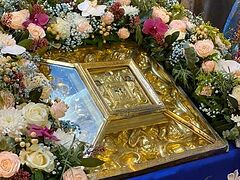Glorification of wonderworking Viliya Icon of Mother of God celebrated in Ukrainian Rivne Diocese