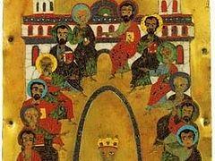 «Духом Святым Ты апостолов исполнил днесь»