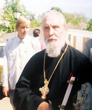 Николай с отцом Георгием на приходе в Царицыно