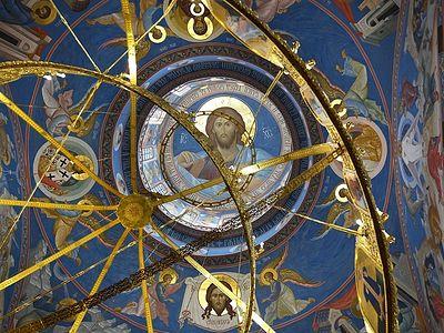 Ιερός Ναός Γεννήσεως του Χριστού του Γιούζνο-Σαχαλίνσκ: Τοιχογραφίες και διακόσμηση