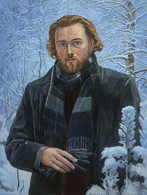 Филипп Москвитин. Автопортрет