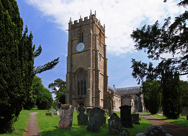 Приходская церковь св. Кандиды и св. креста в деревне Уитчерч-Каноникорум, Дорсет (источник - Wikipedia)
