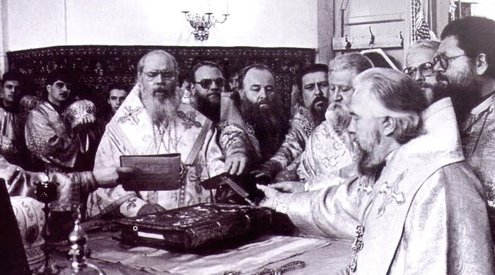Хиротония в епископа. 25 октября 1992 г.