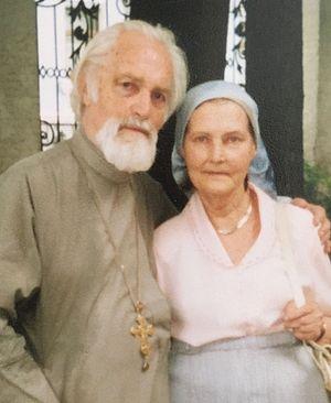 Отец Николай Ведерников и матушка Нина Аркадьевна