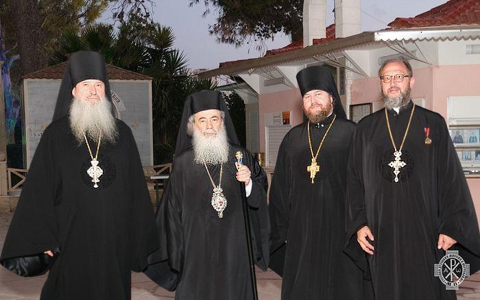 На подворье Русской духовной миссии в Яффе состоялся прием по случаю Дня России