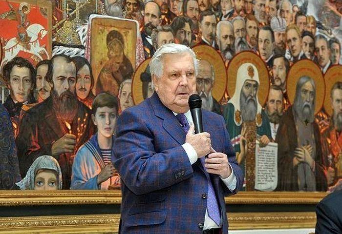 На телеканале «Спас» выйдет передача, посвященная 90-летию Ильи Глазунова