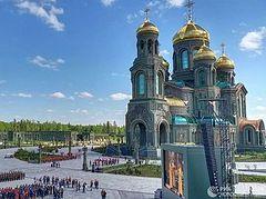 Ο Πατριάρχης Μόσχας για τη σημασία του ναού των Ενόπλων Δυνάμεων