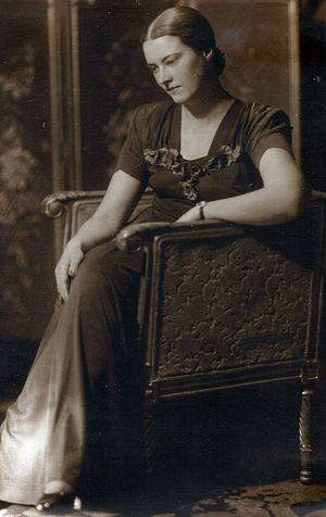 Матушка Нина Аркадьевна в молодости