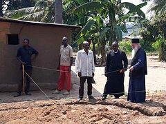 Άρχισε το χτίσιμο του ναού του Αγίου Παϊσίου στην Κανάγκα