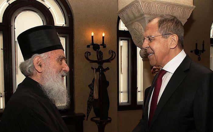 Глава МИД России встретился с Предстоятелем Сербской Православной Церкви