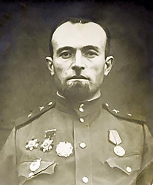 Боевая фотография Х.И. Габуева