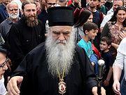 Митрополит Черногорско-Приморский Амфилохий провел шесть часов на допросе